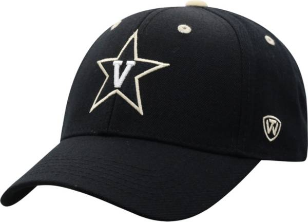 Top of the World Men's Vanderbilt Commodores Triple Threat Adjustable Black Hat product image