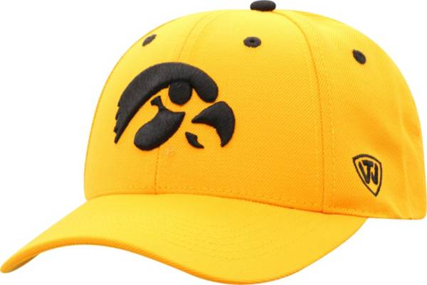 Top of the World Men's Iowa Hawkeyes Gold Triple Threat Adjustable Hat product image