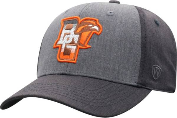 Top of the World Men's Bowling Green Falcons Grey Powertrip 1Fit Flex Hat product image