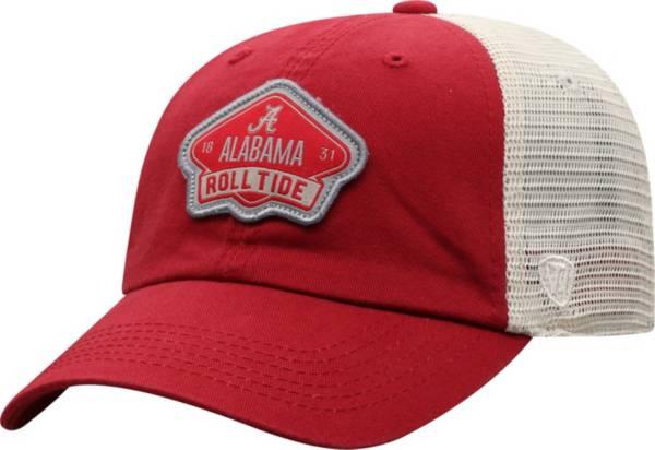 Top of the World Men's Alabama Crimson Tide Crimson/Khaki Nitty Adjustable Hat product image