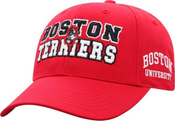 Top of the World Men's Boston Terriers Scarlet Teamwork Adjustable Hat product image
