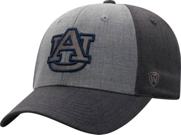 Top of the World Men's Auburn Tigers Grey Powertrip 1Fit Flex Hat product image
