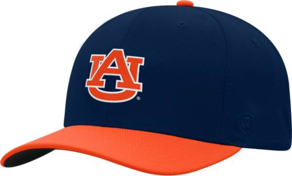 Top of the World Men's Auburn Tigers Blue Reflex Two-Tone Fitted Hat product image