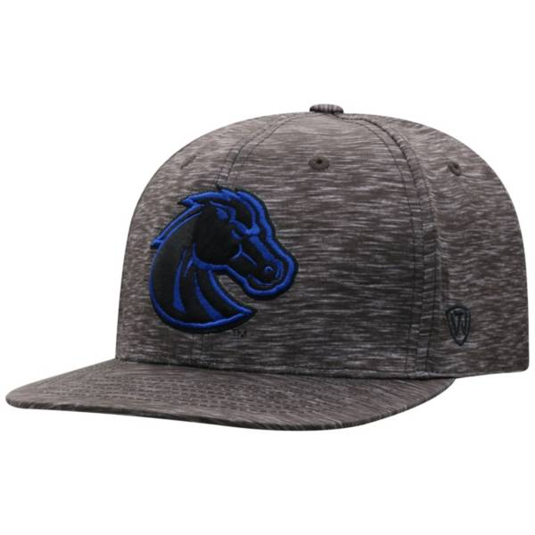 Top of the World Men's Boise State Broncos Gritty 1Fit Flex Black Hat product image