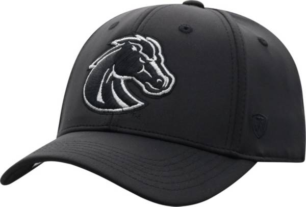 Top of the World Men's Boise State Broncos Phenom 10 1Fit Flex Black Hat product image