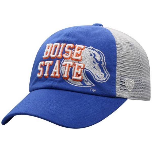 Top of the World Women's Boise State Broncos Blue Glitter Cheer Adjustable Hat product image