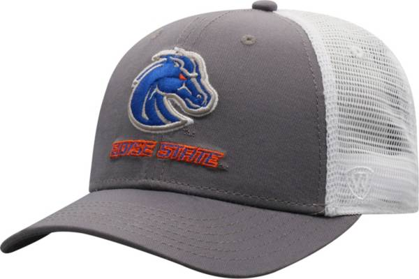Top of the World Men's Boise State Broncos Grey/White BB Two-Tone Adjustable Hat product image