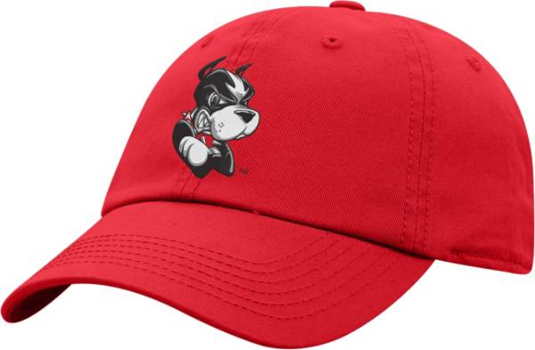 Top of the World Men's Boston Terriers Crew Washed Cotton Adjustable White Hat product image