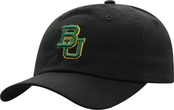 Top of the World Men's Baylor Bears Crew Washed Cotton Adjustable Black Hat product image