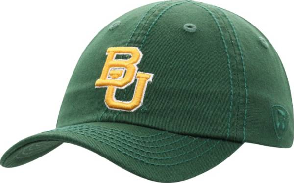 Top of the World Men's Baylor Bears Green Crew Washed Cotton Adjustable Hat product image