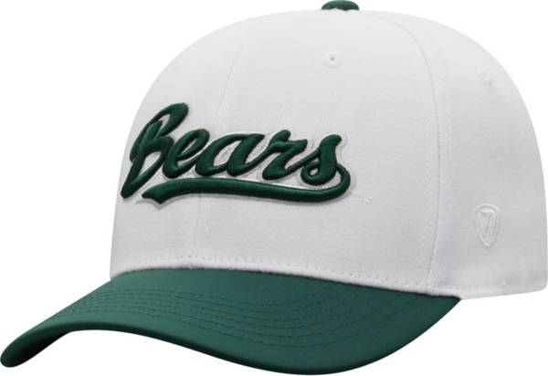 Top of the World Men's Baylor Bears Infield 1Fit Flex White Hat product image