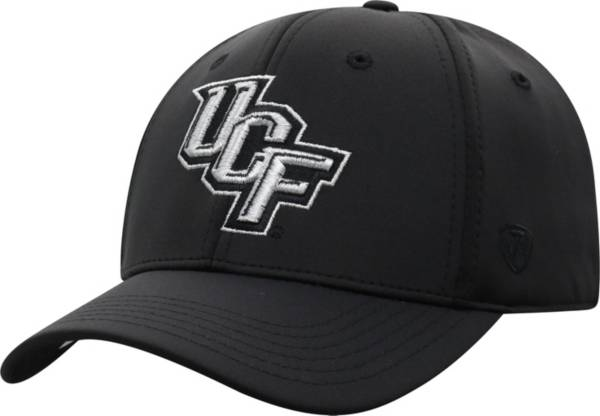 Top of the World Men's UCF Knights Phenom 10 1Fit Flex Black Hat product image