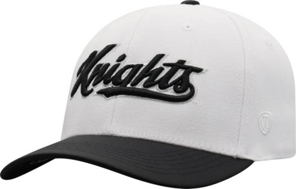 Top of the World Men's UCF Knights Infield 1Fit Flex White Hat product image