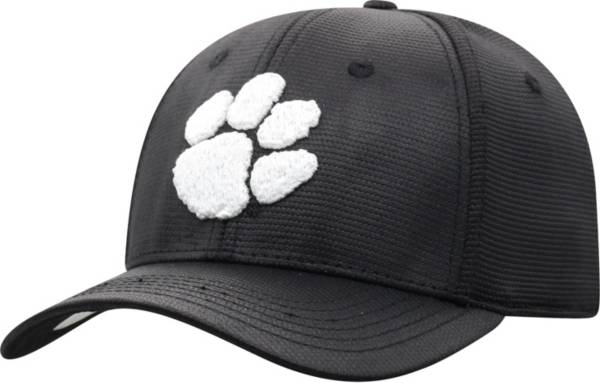 Top of the World Men's Clemson Tigers Progo 1Fit Flex Black Hat product image