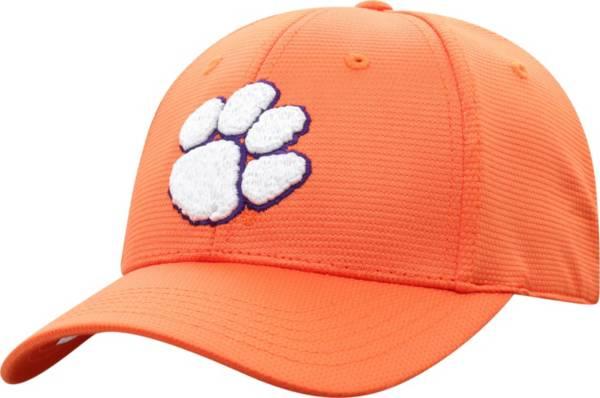 Top of the World Men's Clemson Tigers Orange Progo 1Fit Flex Hat product image