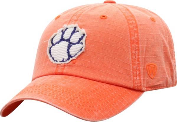 Top of the World Men's Clemson Tigers Orange 1 Wave Adjustable Hat product image