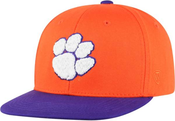 Top of the World Youth Clemson Tigers Orange Maverick Adjustable Hat product image
