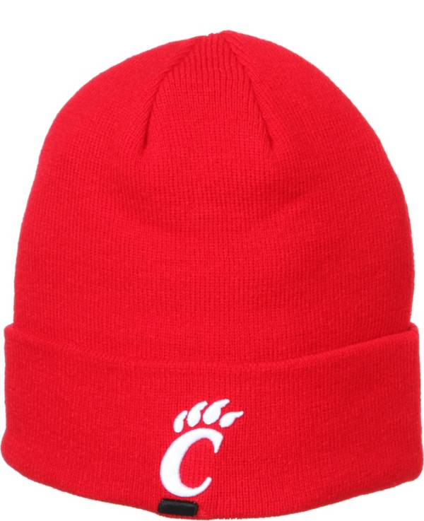 Zephyr Men's Cincinnati Bearcats Red Cuffed Knit Beanie product image