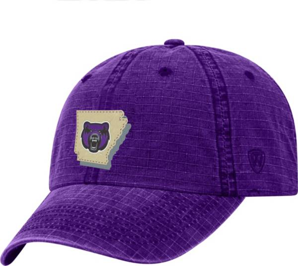 Top of the World Men's Central Arkansas Bears  Purple Stateline Adjustable Hat product image