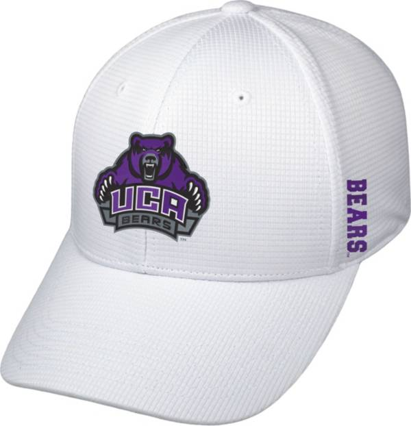 Top of the World Men's Central Arkansas Bears  Booster Plus 1Fit Flex White Hat product image