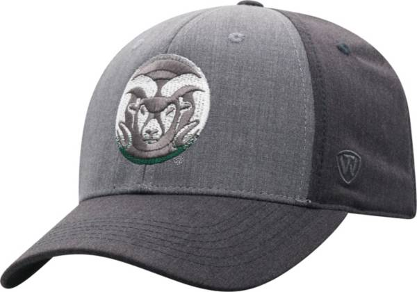 Top of the World Men's Colorado State Rams Grey Powertrip 1Fit Flex Hat product image