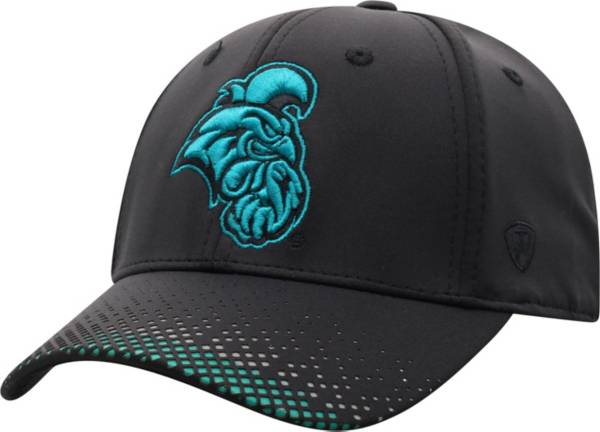 Top of the World Men's Coastal Carolina Chanticleers Lumens 1Fit Flex Black Hat product image