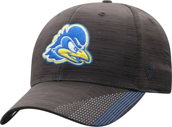 Top of the World Men's Delaware Fightin' Blue Hens Trace 1Fit Flex Black Hat product image