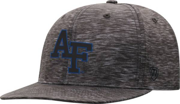 Top of the World Men's Air Force Falcons Gritty 1Fit Flex Black Hat product image
