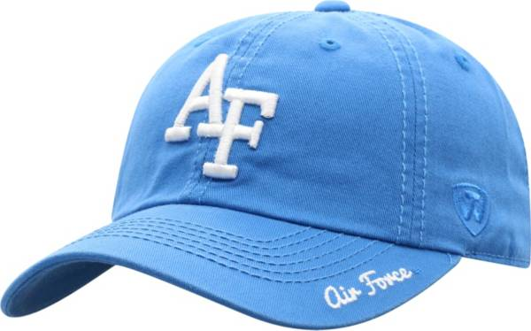 Top of the World Men's Air Force Falcons Royal Crew Washed Cotton Adjustable Hat product image