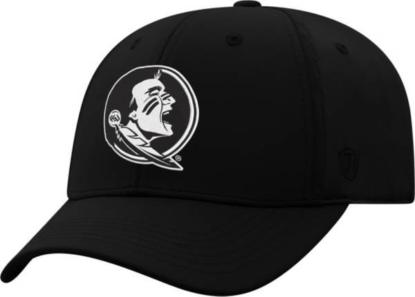 Top of the World Men's Florida State Seminoles Phenom 1 1Fit Flex Black Hat product image