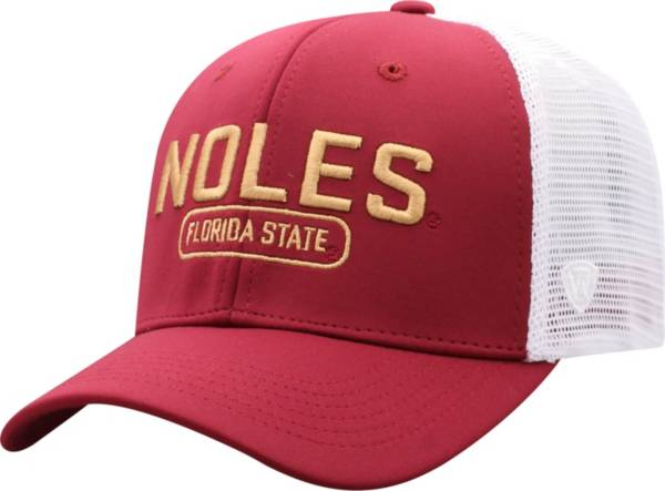 Top of the World Men's Florida State Seminoles Garnet Notch Adjustable Snapback Hat product image