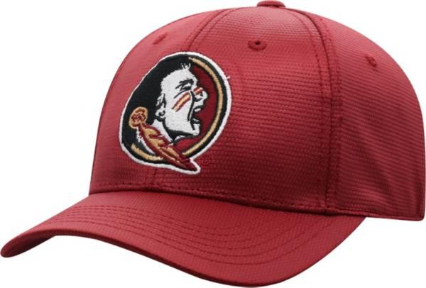 Top of the World Men's Florida State Seminoles Garnet Progo 1Fit Flex Hat product image