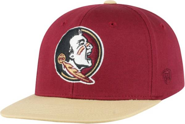 Top of the World Youth Florida State Seminoles Garnet Maverick Adjustable Hat product image