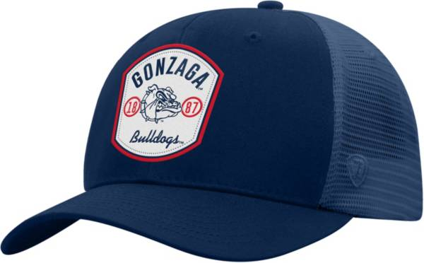 Top of the World Men's Gonzaga Bulldogs Blue Sea Life Adjustable Hat product image