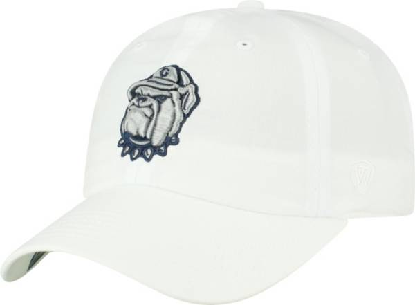 Top of the World Men's Georgetown Hoyas Staple Adjustable White Hat product image