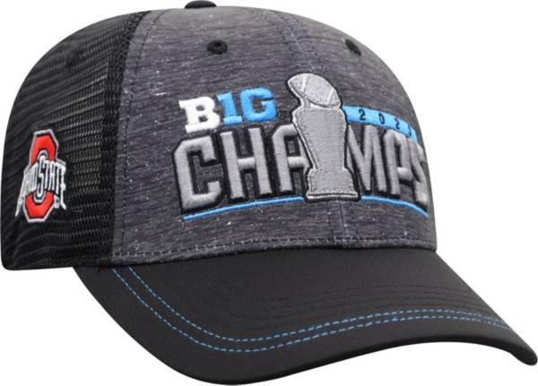 Top of the World Men's 2020 Big Ten Football Champions Ohio State Buckeyes Locker Room Hat product image