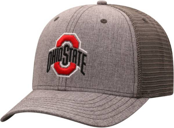 Top of the World Men's Ohio State Buckeyes Grey ATM Adjustable Hat product image