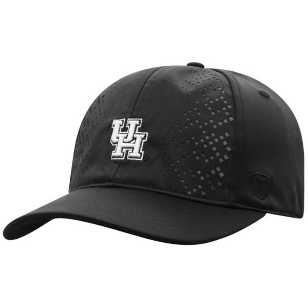 Top of the World Women's Houston Cougars Focal 1Fit Flex Black Hat product image
