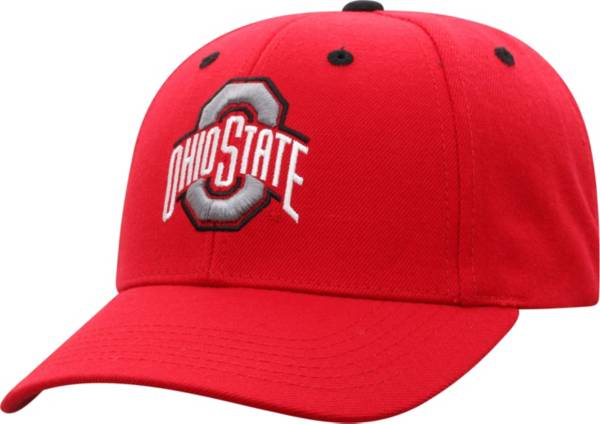 Top of the World Men's Ohio State Buckeyes Scarlet Triple Threat Adjustable Hat product image