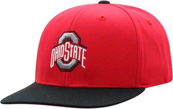 OSU Youth Ohio State Buckeyes Scarlet Maverick Adjustable Hat product image