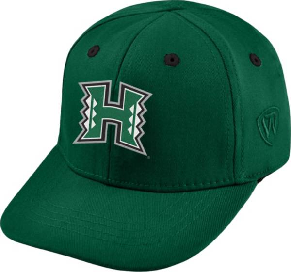 Top of the World Infant Hawai'i Warriors Green The Cub Fitted Hat product image