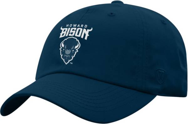 Top of the World Men's Howard Bison Blue Staple Adjustable Hat product image