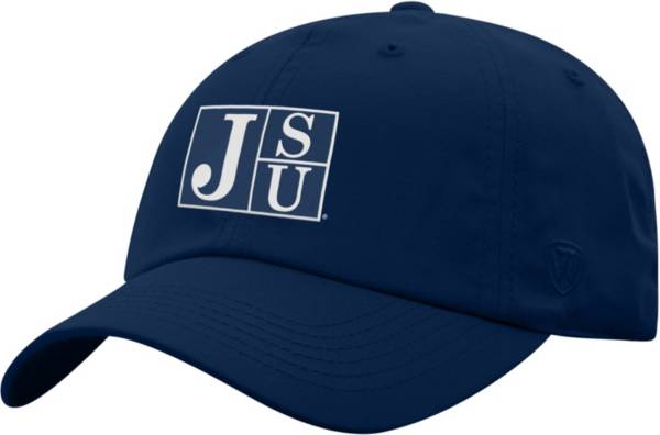 Top of the World Men's Jackson State Tigers Navy Blue Staple Adjustable Hat product image