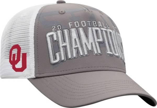 Top of the World Men's 2020 Big 12 Football Champions Oklahoma Sooners Locker Room Hat product image