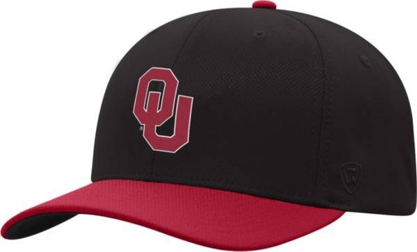 Top of the World Men's Oklahoma Sooners Crimson Reflex Two-Tone Fitted Hat product image