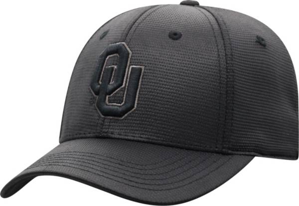 Top of the World Men's Oklahoma Sooners Grey Powertrip 1Fit Flex Hat product image