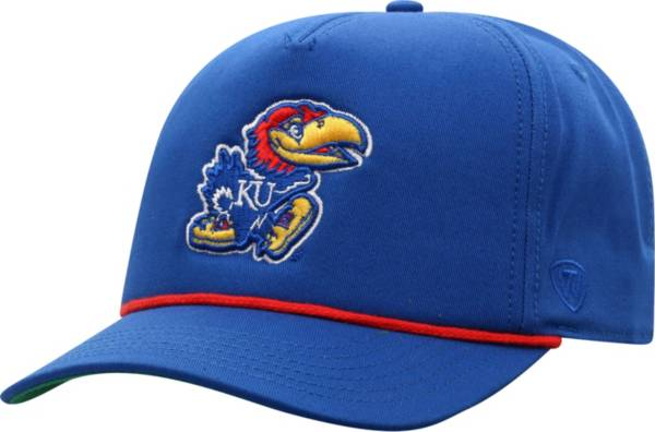 Top of the World Men's Kansas Jayhawks Blue Dally Adjustable Hat product image