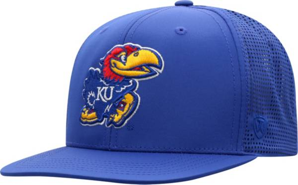 Top of the World Men's Kansas Jayhawks Blue Flight Adjustable Hat product image
