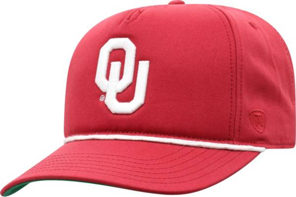Top of the World Men's Oklahoma Sooners Crimson Dally Adjustable Hat product image