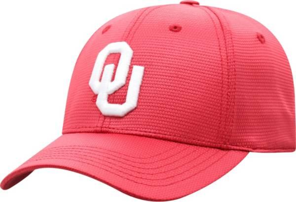 Top of the World Men's Oklahoma Sooners Crimson Progo 1Fit Flex Hat product image